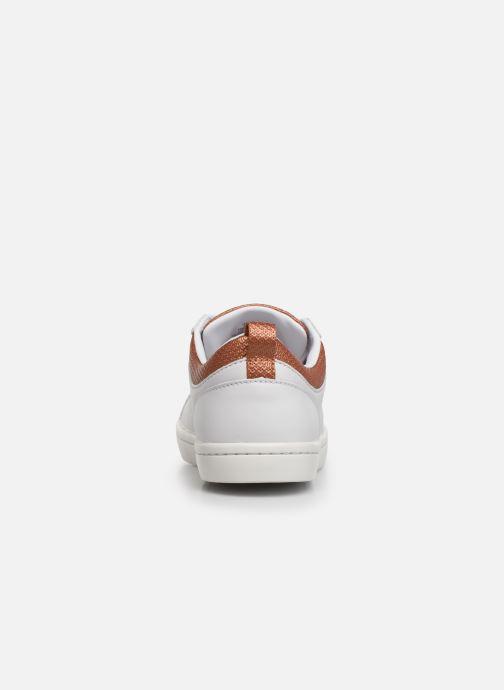 Baskets Lacoste Straight Set 319 1 CFA Blanc vue droite