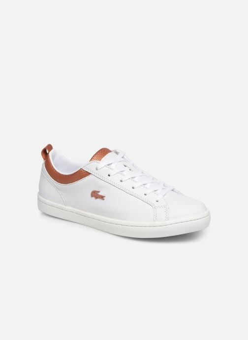 Trainers Lacoste Straight Set 319 1 CFA White detailed view/ Pair view