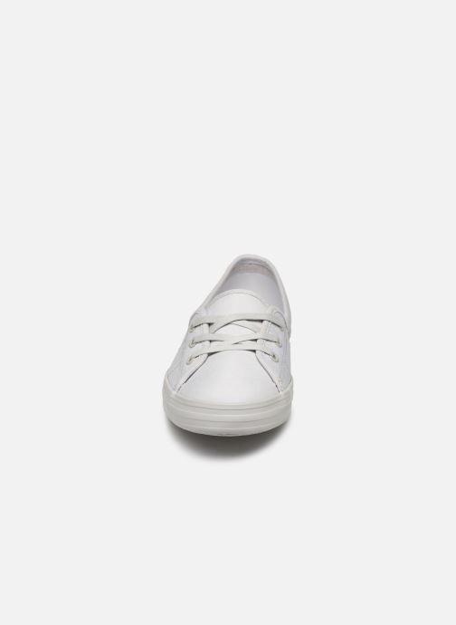 Sneaker Lacoste Ziane Chunky 319 1 CFA grau schuhe getragen