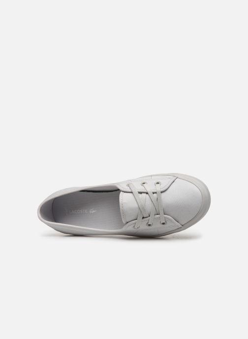 Sneaker Lacoste Ziane Chunky 319 1 CFA grau ansicht von links
