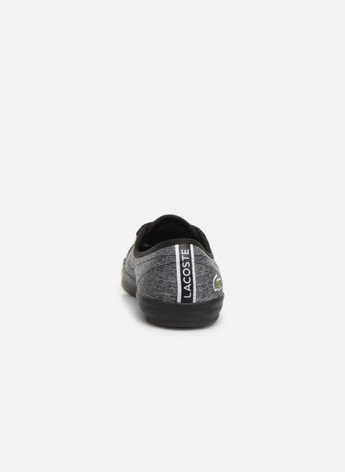 Baskets Lacoste Ziane Chunky 319 1 CFA Noir vue droite
