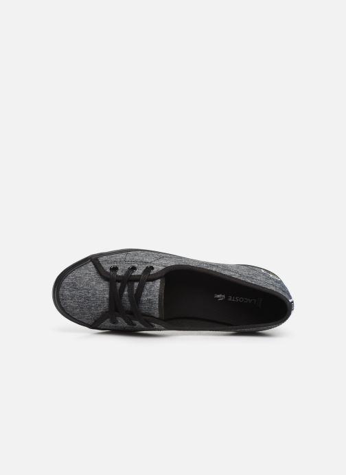 Sneaker Lacoste Ziane Chunky 319 1 CFA schwarz ansicht von links