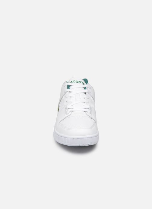 Baskets Lacoste Thrill 319 1 US SMA Blanc vue portées chaussures
