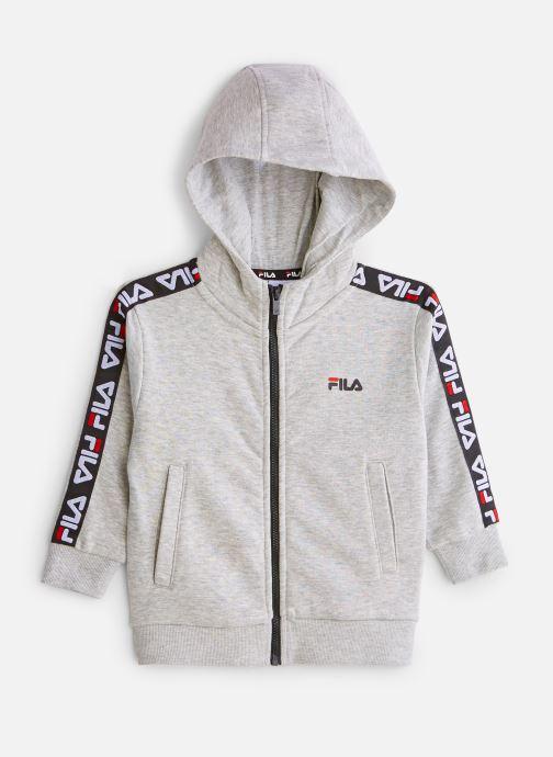 Vêtements FILA ADARA Zip Jacket Gris vue détail/paire