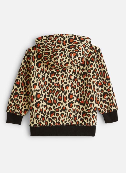 Vêtements FILA CLASSIC AOP Logo Hoody Multicolore vue bas / vue portée sac