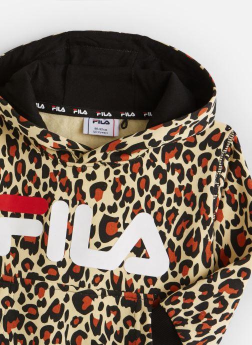 Vêtements FILA CLASSIC AOP Logo Hoody Multicolore vue portées chaussures
