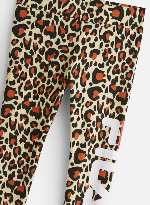 Vêtements FILA FLEX AOP Leggings Multicolore vue portées chaussures