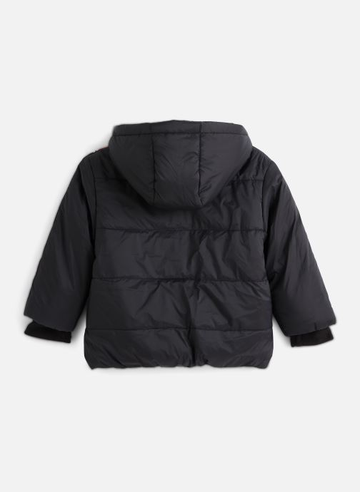 Vêtements FILA TOBIN Padded Jacket Noir vue bas / vue portée sac