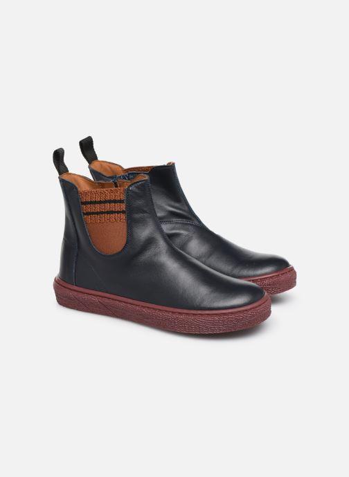 Bottines et boots PèPè 875 Bleu vue 3/4