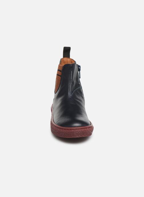 Bottines et boots PèPè 875 Bleu vue portées chaussures