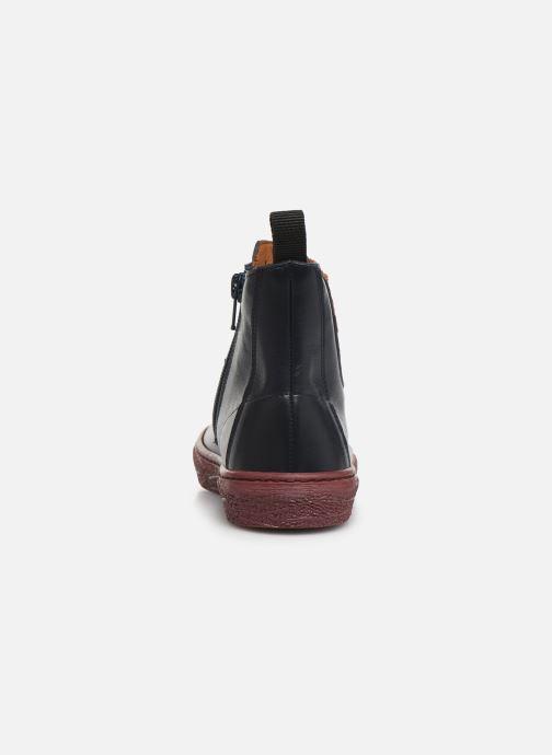 Bottines et boots PèPè 875 Bleu vue droite