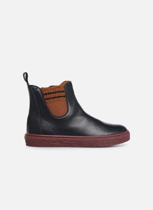 Boots en enkellaarsjes PèPè 875 Blauw achterkant