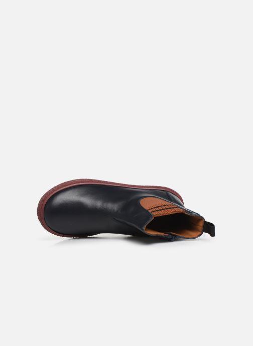 Stiefeletten & Boots PèPè 875 blau ansicht von links
