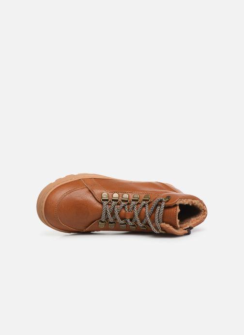 Boots en enkellaarsjes PèPè 769/FL/GT Bruin links
