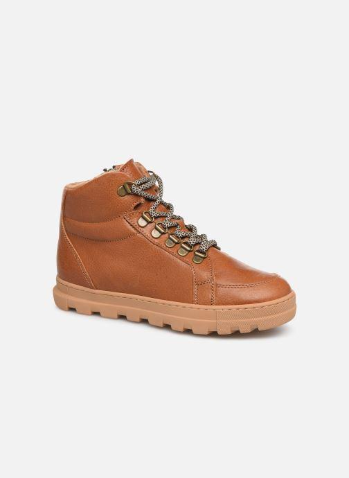 Bottines et boots PèPè 769/FL/GT Marron vue détail/paire