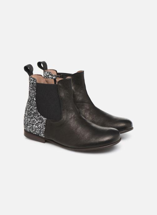 Bottines et boots PèPè 1199 Noir vue 3/4