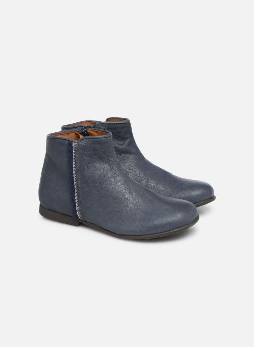 Bottines et boots PèPè 1182/P Bleu vue 3/4