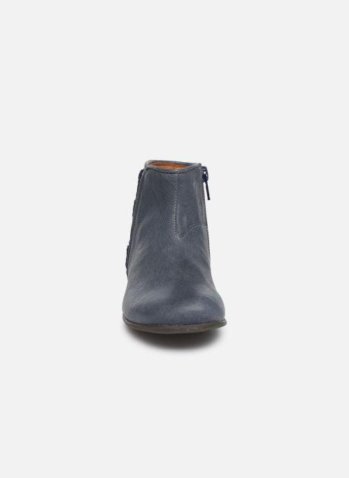 Bottines et boots PèPè 1182/P Bleu vue portées chaussures