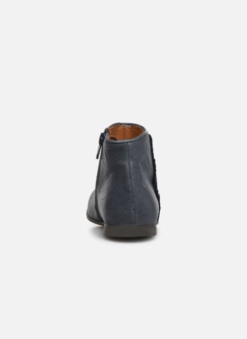 Boots en enkellaarsjes PèPè 1182/P Blauw rechts