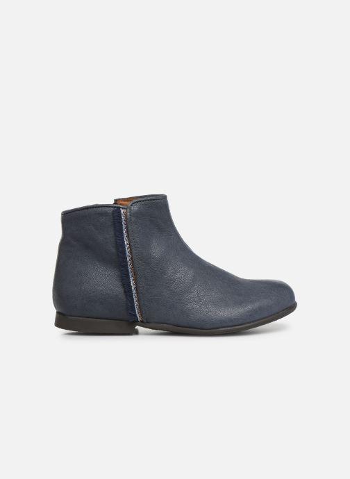 Bottines et boots PèPè 1182/P Bleu vue derrière