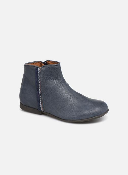 Ankelstøvler PèPè 1182/P Blå detaljeret billede af skoene
