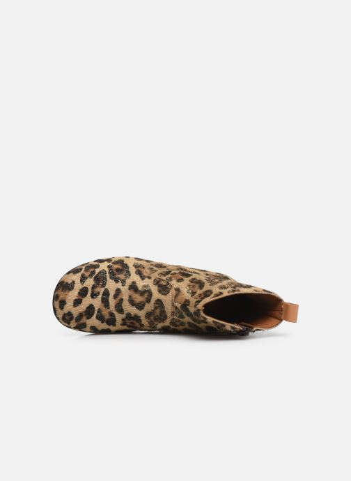 Stiefeletten & Boots PèPè 1204 beige ansicht von links