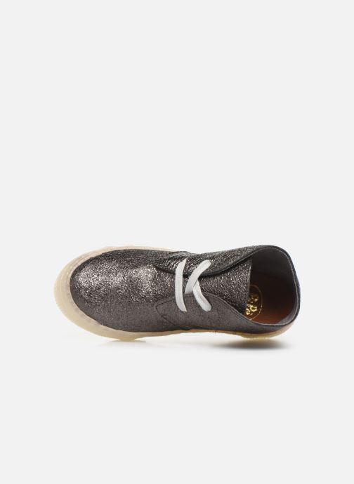 Sneakers PèPè Kent Sølv se fra venstre
