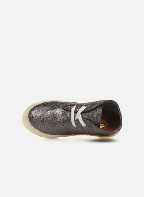 Sneakers PèPè Kent Argento immagine sinistra