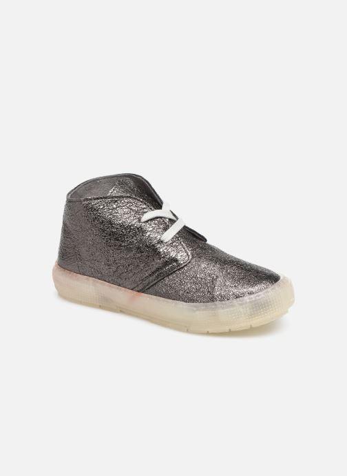 Sneakers PèPè Kent Sølv detaljeret billede af skoene