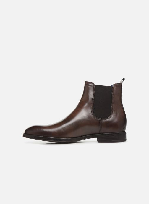 Ankle boots Azzaro Seville Brown front view