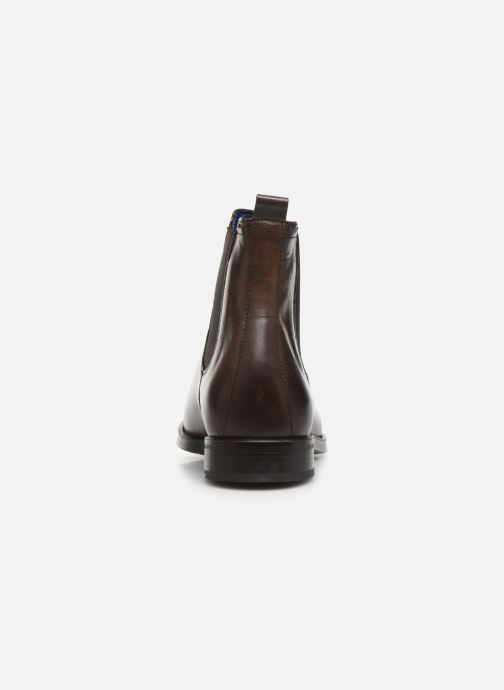 Ankle boots Azzaro Seville Brown view from the right