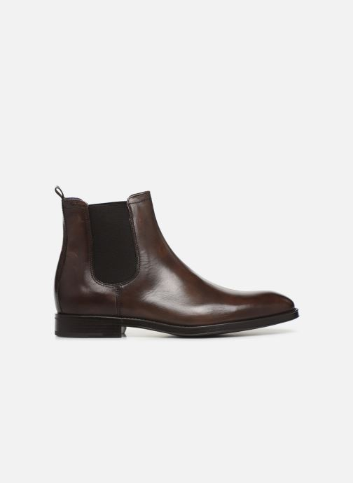 Ankle boots Azzaro Seville Brown back view