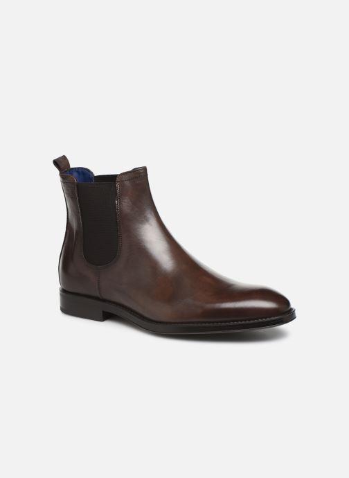 Ankelstøvler Azzaro Seville Brun detaljeret billede af skoene