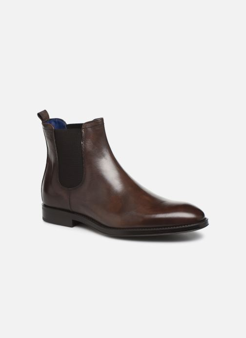 Ankle boots Azzaro Seville Brown detailed view/ Pair view