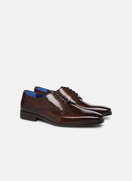 Zapatos con cordones Azzaro POIVRE Marrón vista 3/4