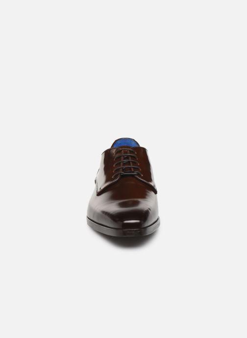 Chaussures à lacets Azzaro POIVRE Marron vue portées chaussures