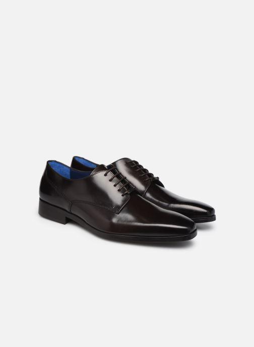 Chaussures à lacets Azzaro POIVRE Marron vue 3/4
