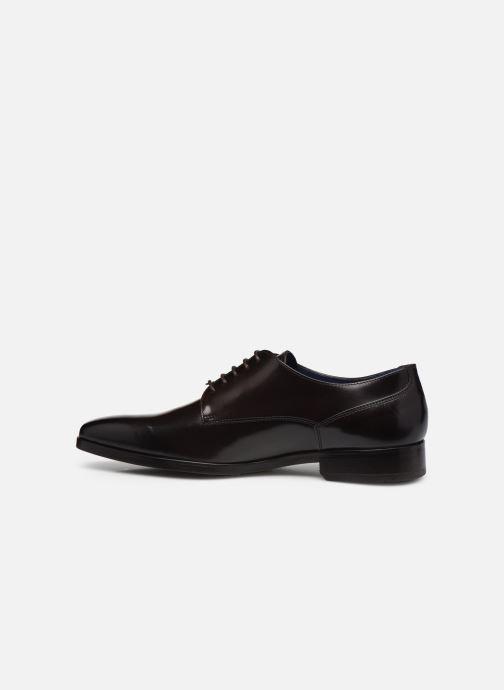 Chaussures à lacets Azzaro POIVRE Marron vue face