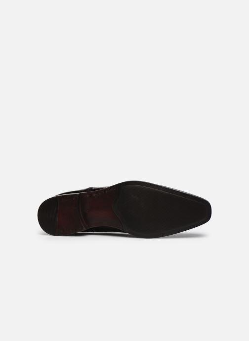 Chaussures à lacets Azzaro POIVRE Marron vue haut