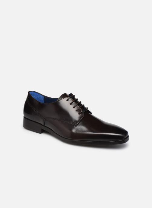Chaussures à lacets Azzaro POIVRE Marron vue détail/paire
