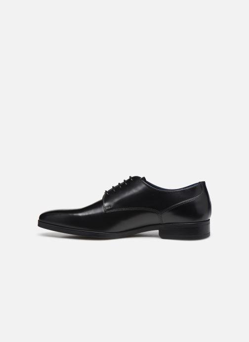 Zapatos con cordones Azzaro POIVRE Negro vista de frente