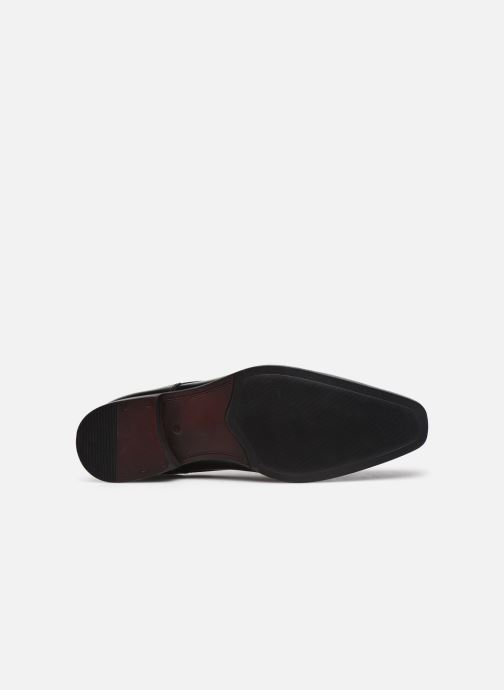 Zapatos con cordones Azzaro POIVRE Negro vista de arriba