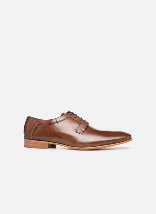 Chaussures à lacets Azzaro BOLDAVI Marron vue derrière