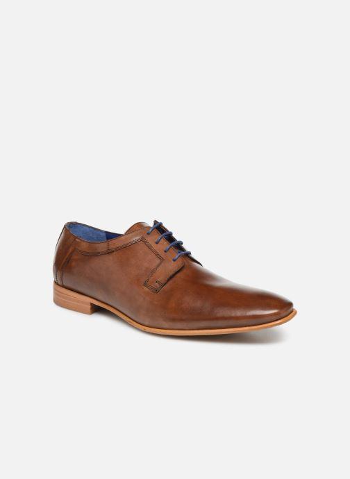 Chaussures à lacets Azzaro BOLDAVI Marron vue détail/paire
