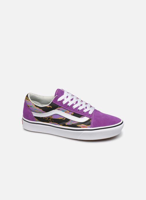 vans femme old skool violet