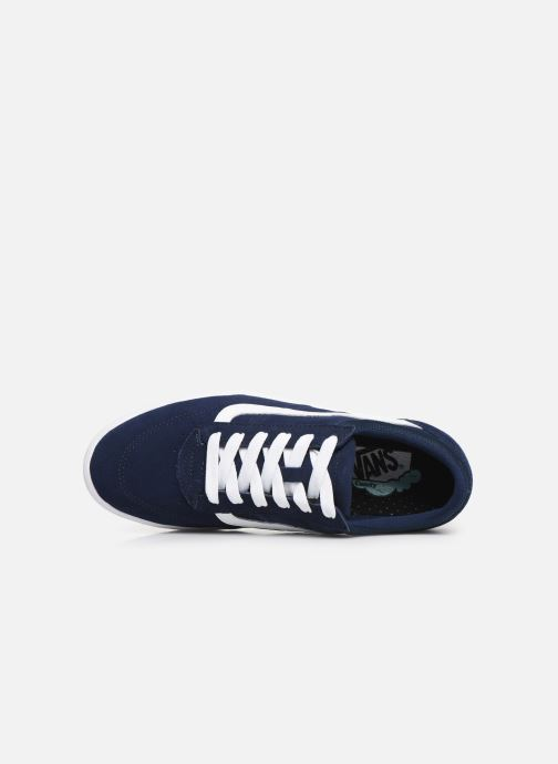 Baskets Vans Cruze CC Bleu vue gauche