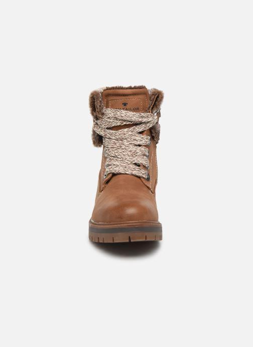 Boots en enkellaarsjes Tom Tailor Nika Bruin model