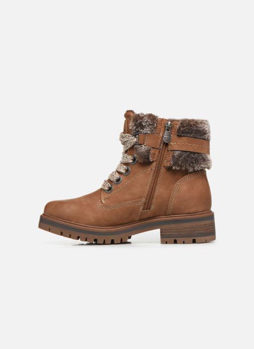 Boots en enkellaarsjes Tom Tailor Nika Bruin voorkant