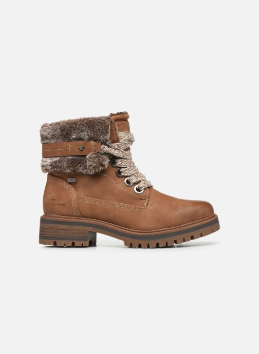 Boots en enkellaarsjes Tom Tailor Nika Bruin achterkant