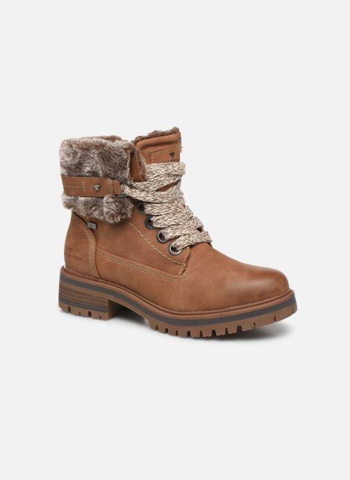 Bottines et boots Tom Tailor Nika Marron vue détail/paire